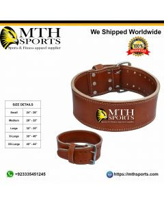 Weight Lifting Leather Belt